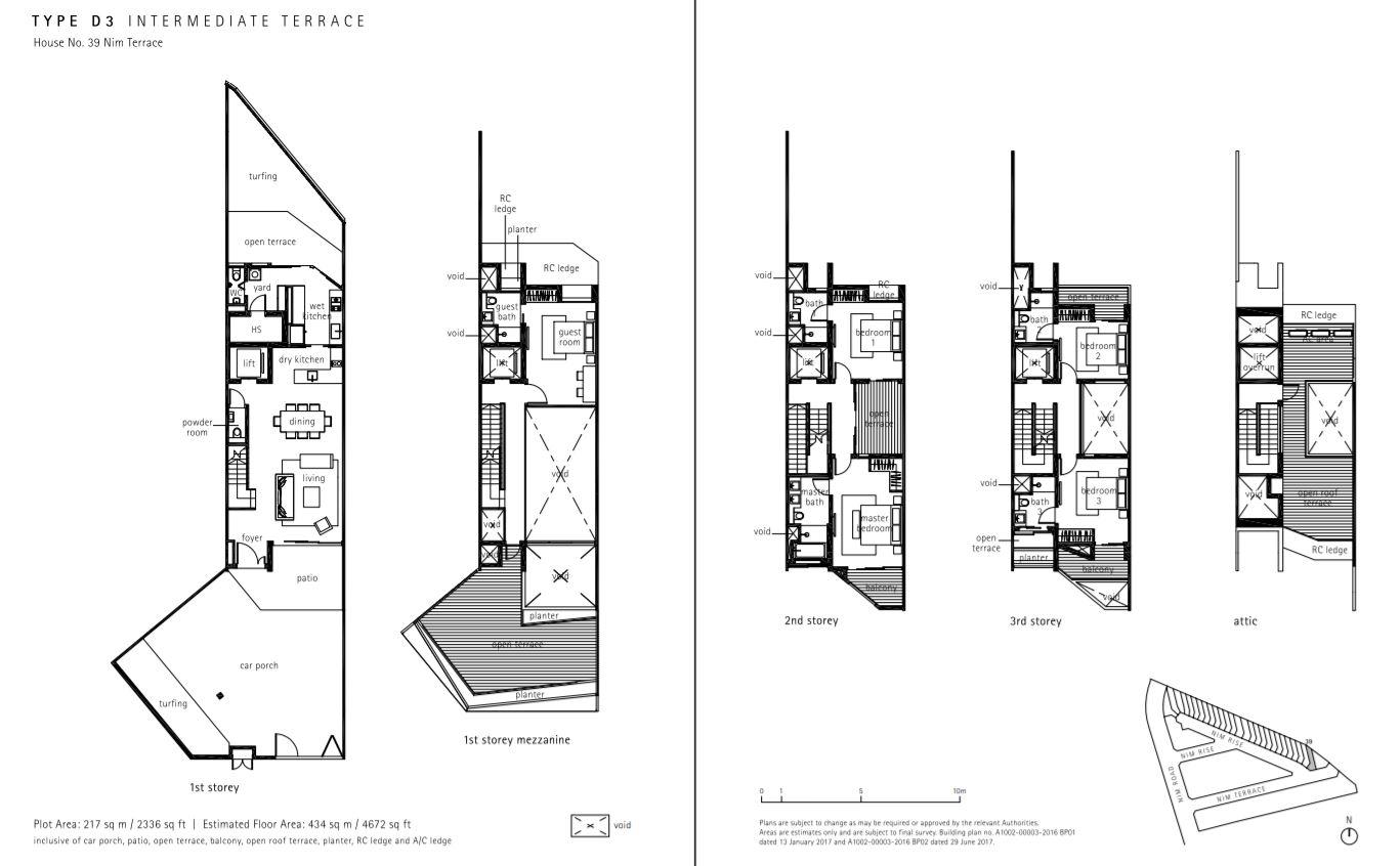 Type D3 Floor Plan