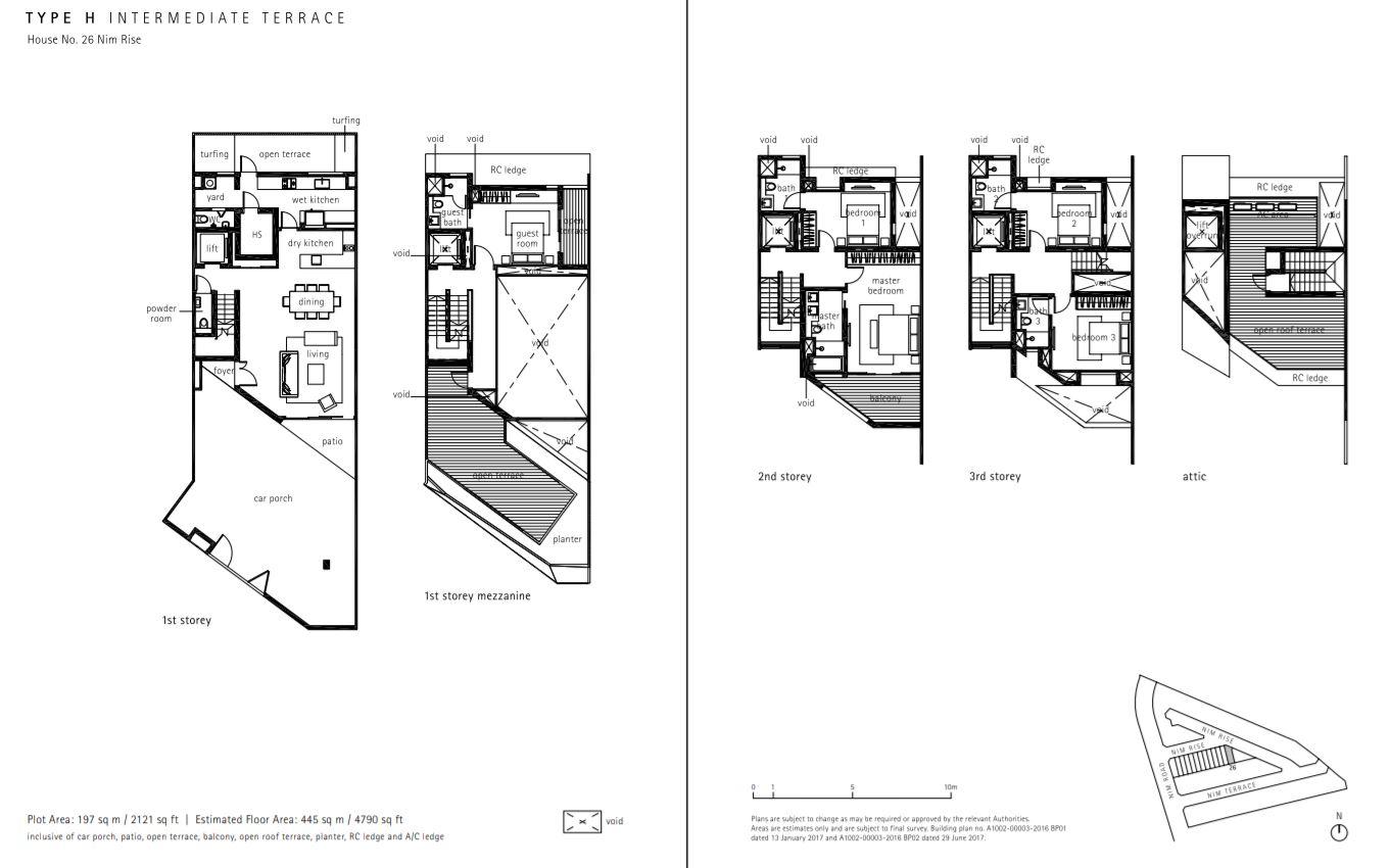 Type H Floor Plan