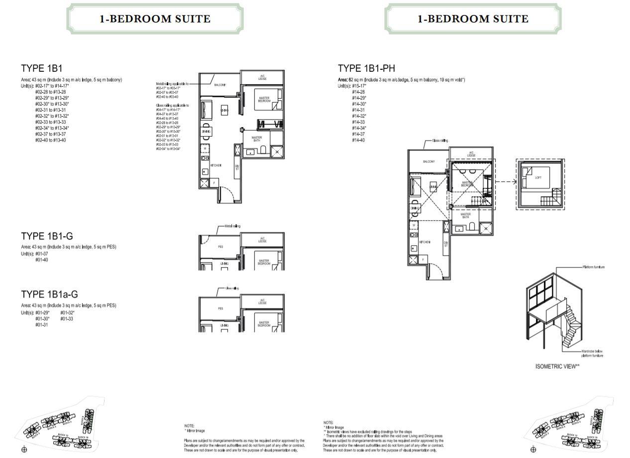 Floor Plan 1-Bedroom
