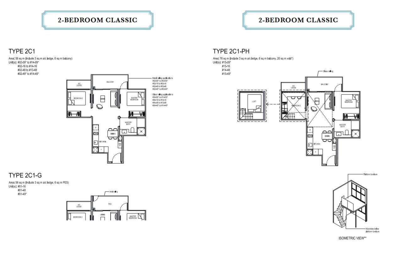 Floor Plan 2-Bedroom