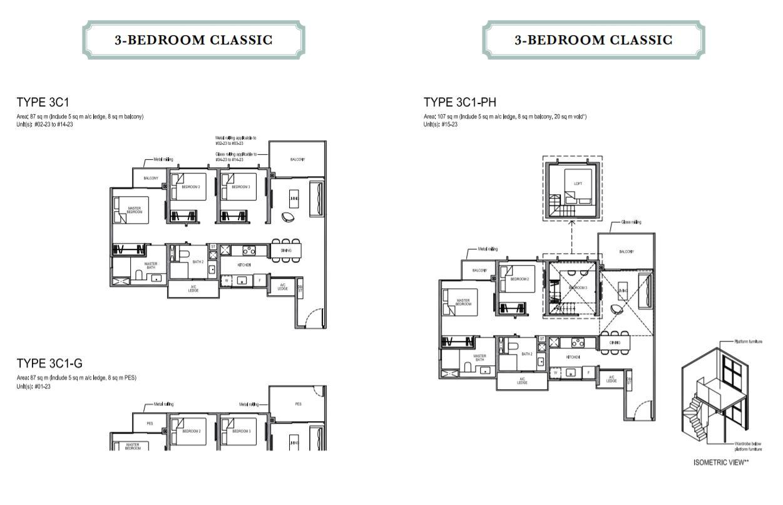 Floor Plan 3-Bedroom