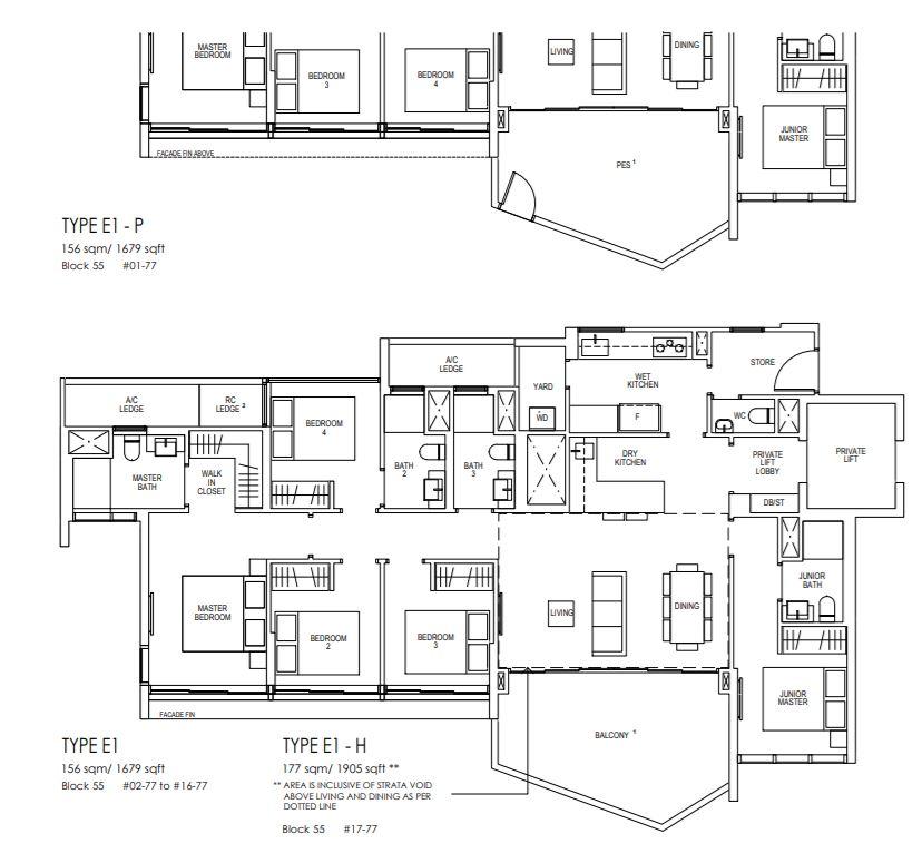 Floor Plan 5 Bedroom