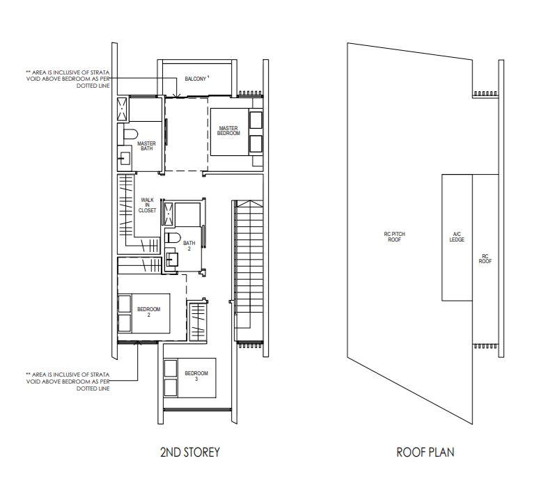 Floor Plan Strata Terrace House