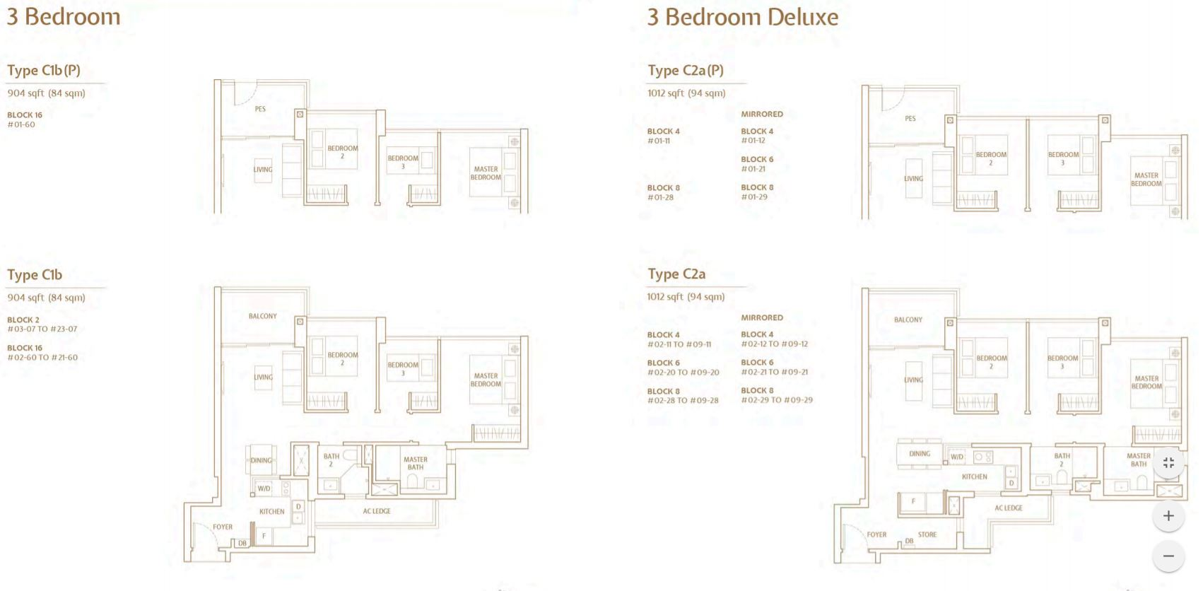 FloorPlan 3 Bedroom-DeLuxe