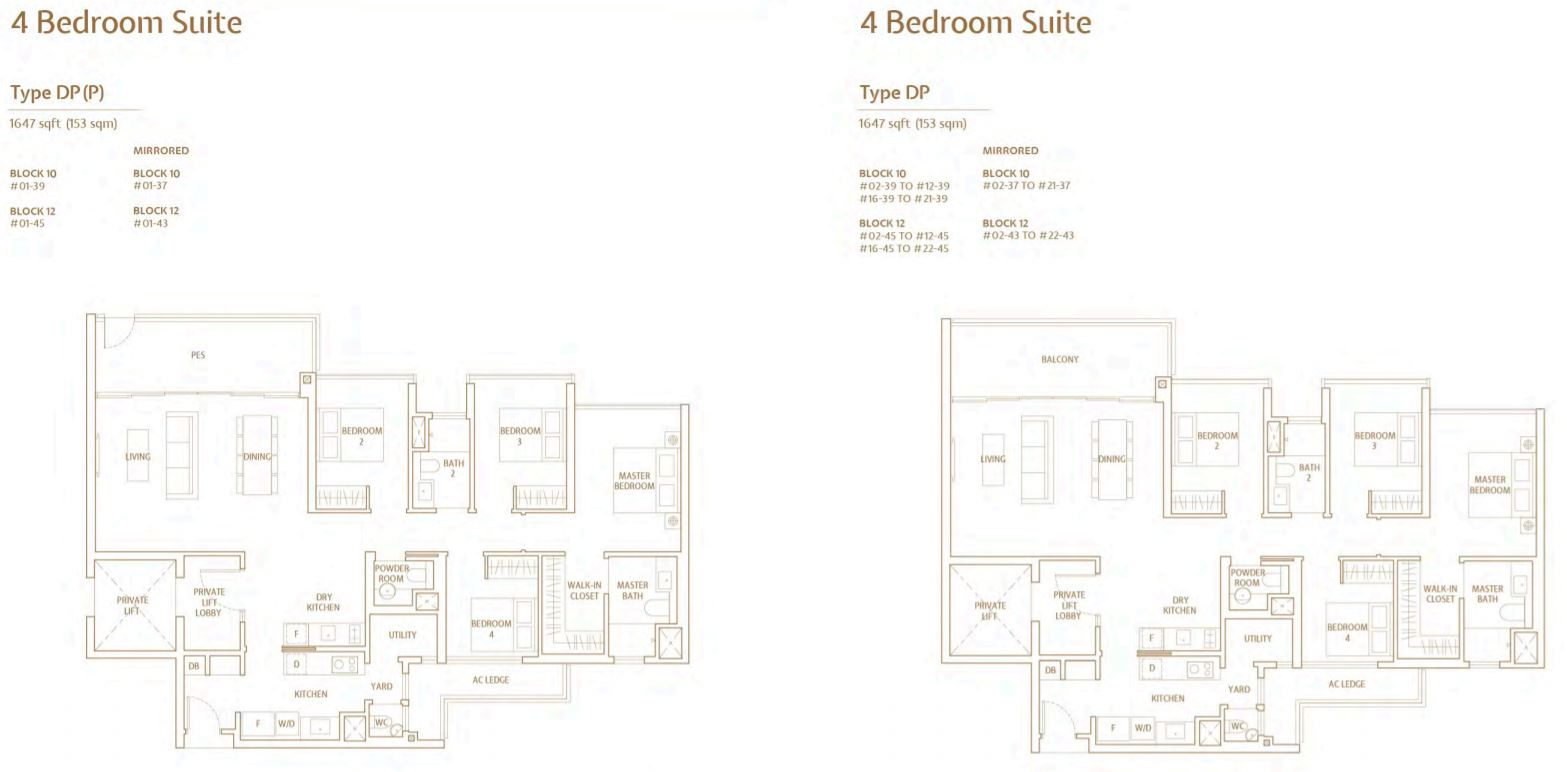 FloorPlan 4 Bedroom-Suite