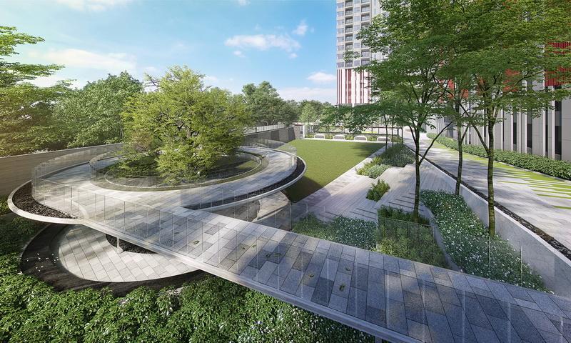 Life-Asoke-Hype-Bangkok-Facility_Circle-Running-Garden