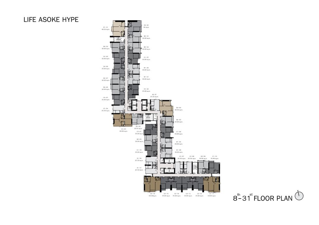 Life-Asoke-Hype-Level-29-Site-Plan