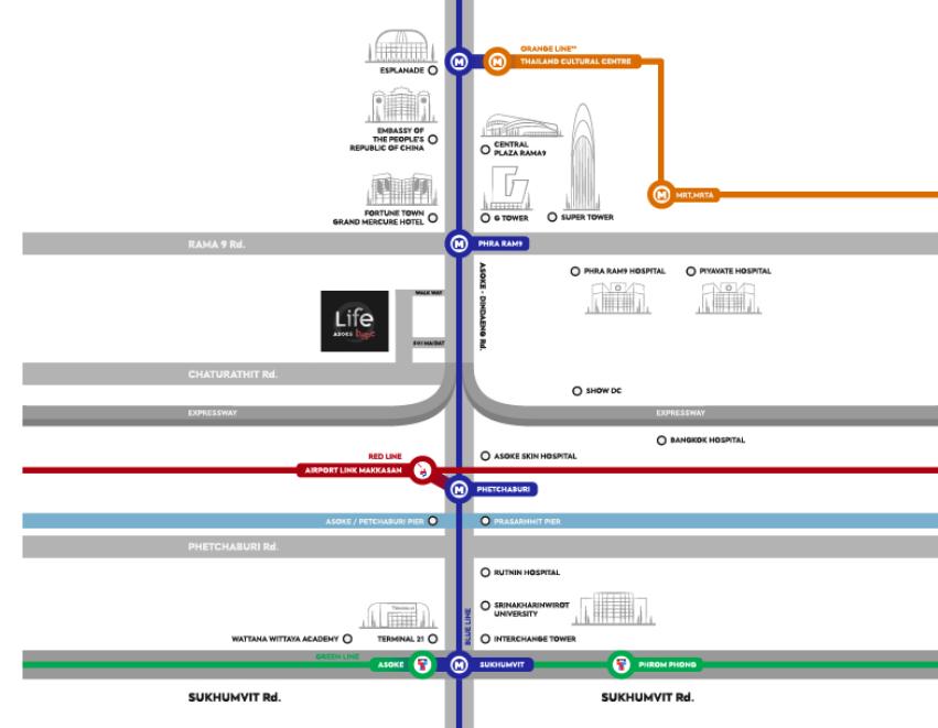 Life-Asoke-Hype-Location-Map