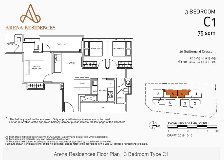Floor Plan Type C1