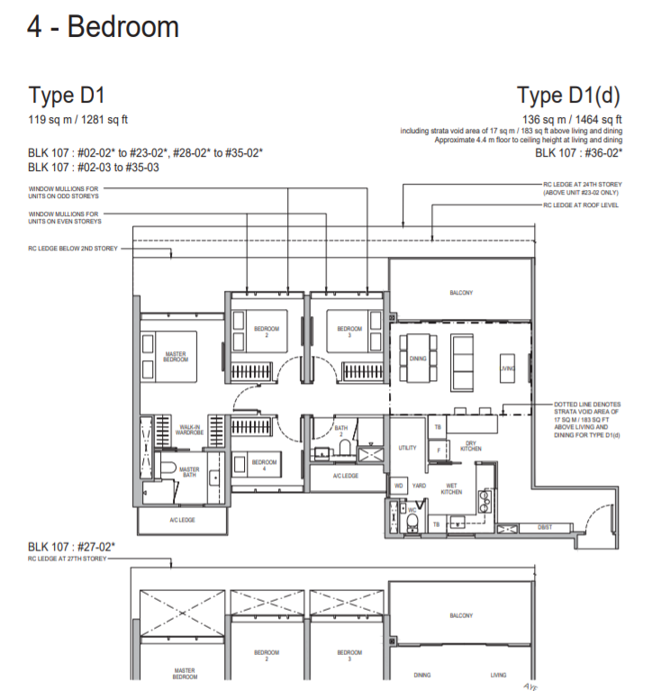 Whistler Grand Condo TypeD1 4Bedroom