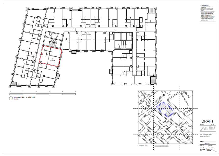 ancoats site plan