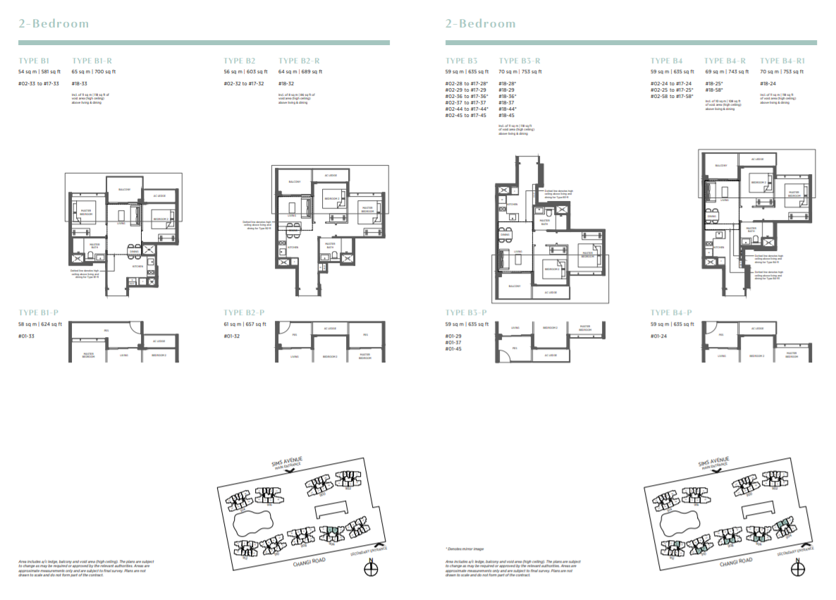 FloorPlan 2 Bedroom
