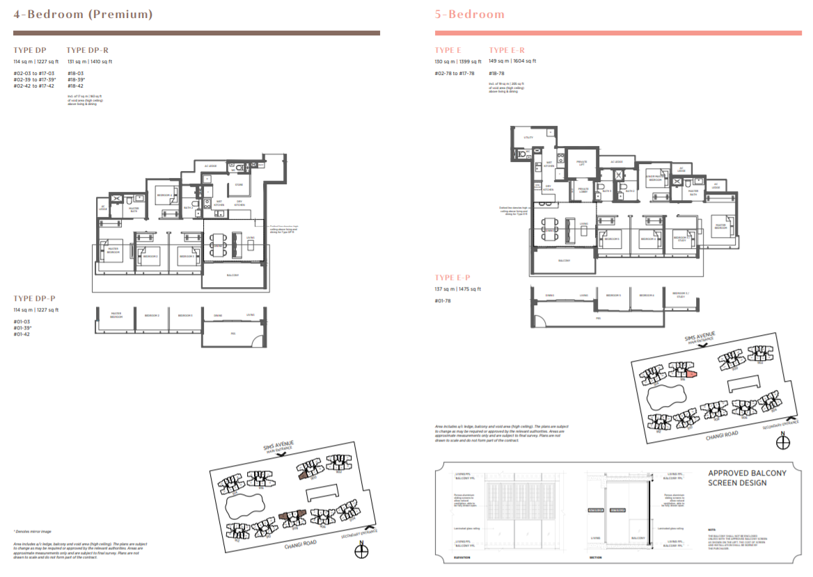 FloorPlan 5 Bedroom