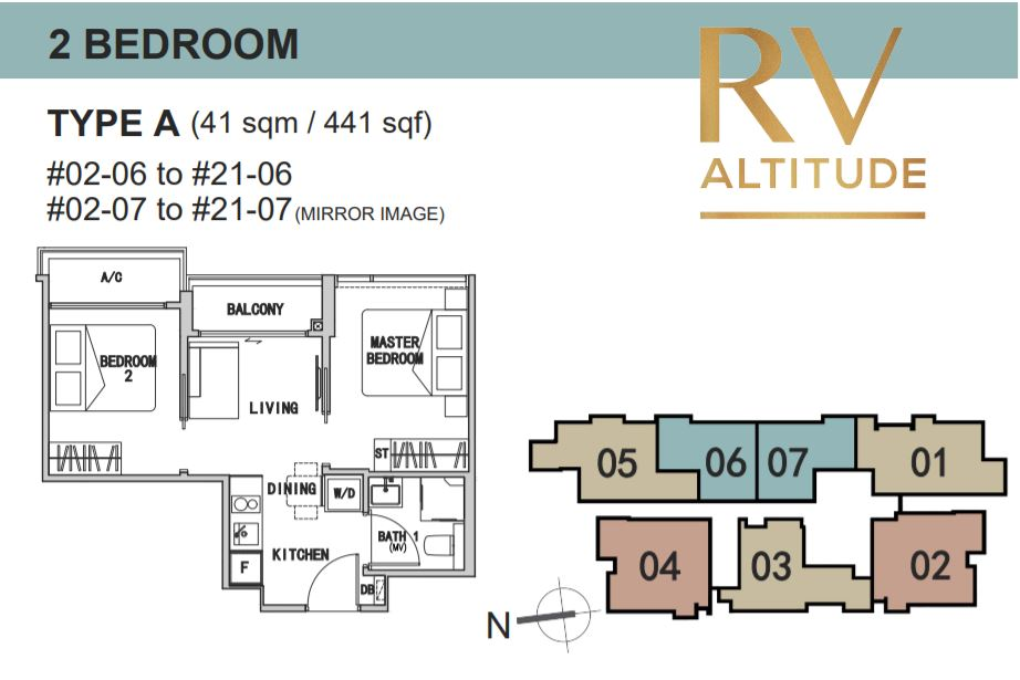2 Bedroom Type A