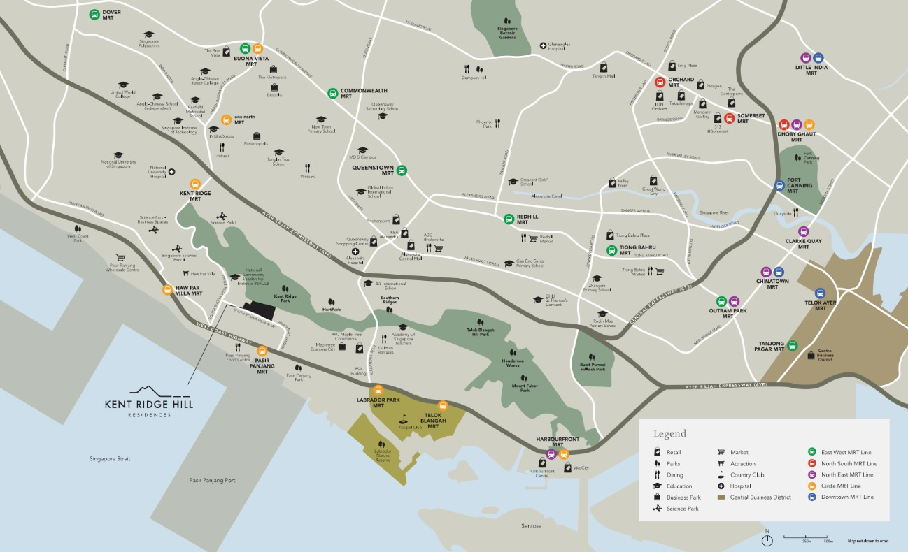 Kent RIdge Hill Residences Location
