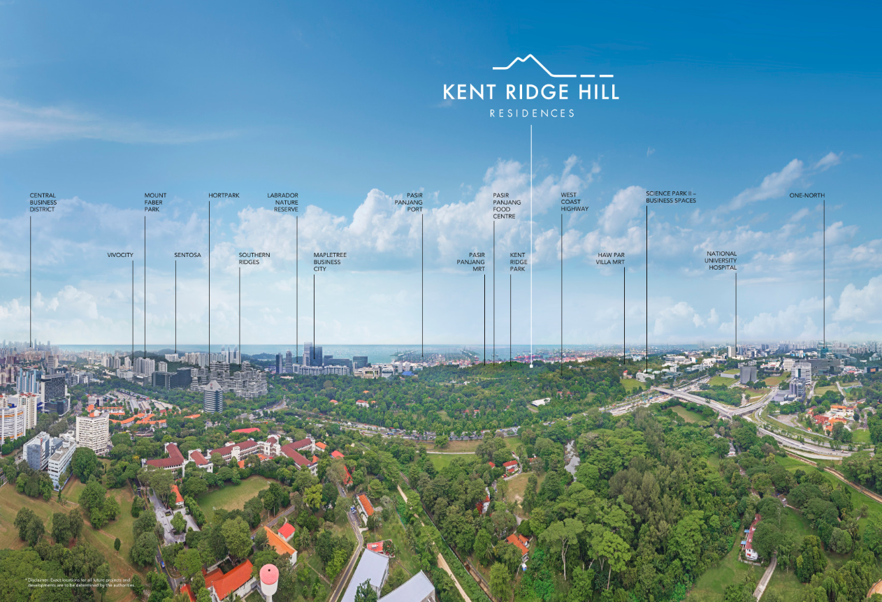 Kent Ridge Hill Skyline