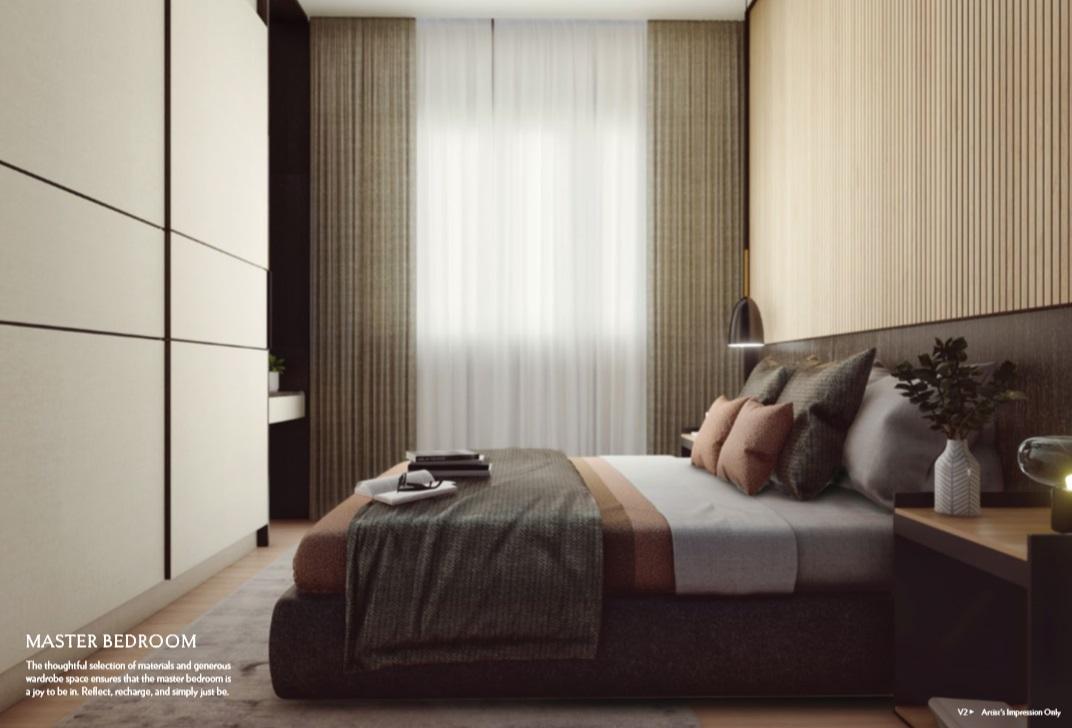 Seraya Residences Master Bedroom