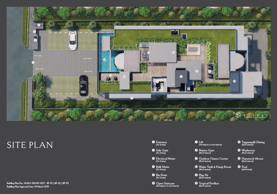 Seraya Residences Siteplan