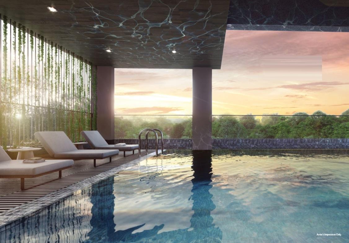 Seraya Residences Swimming Pool