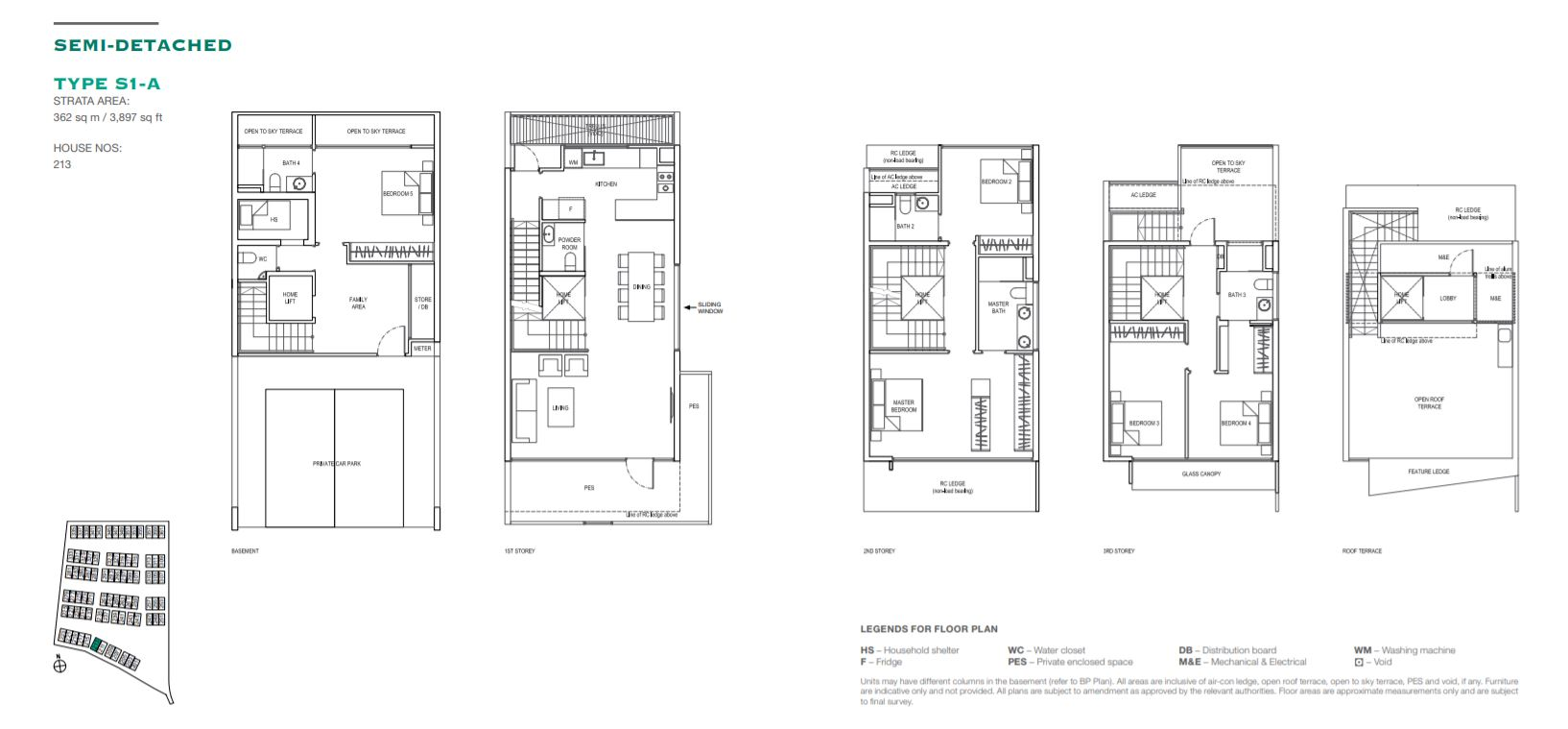 Floor Plan Type S1-A