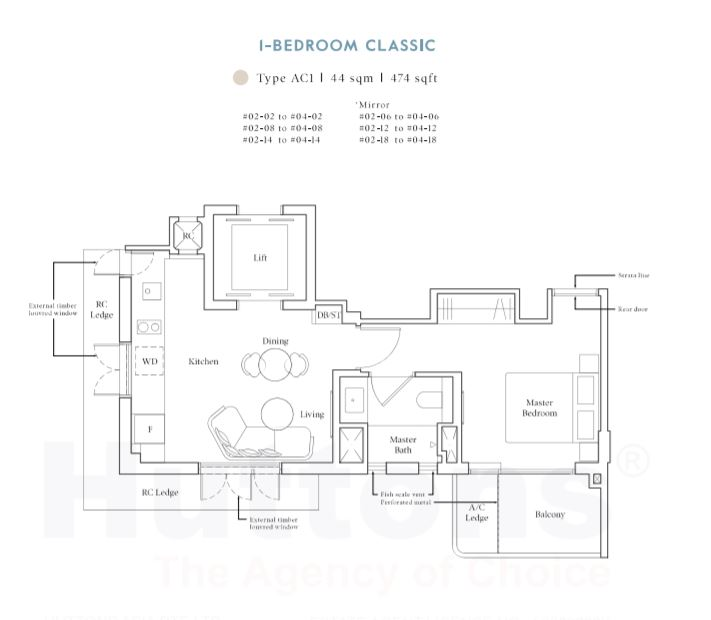 Avenue South 1-Bedroom Classic