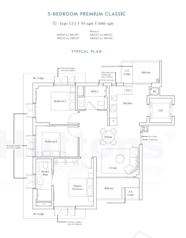 Avenue South 3-Bedroom Premium Classic