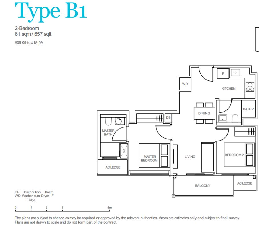 FloorPlan Type B1
