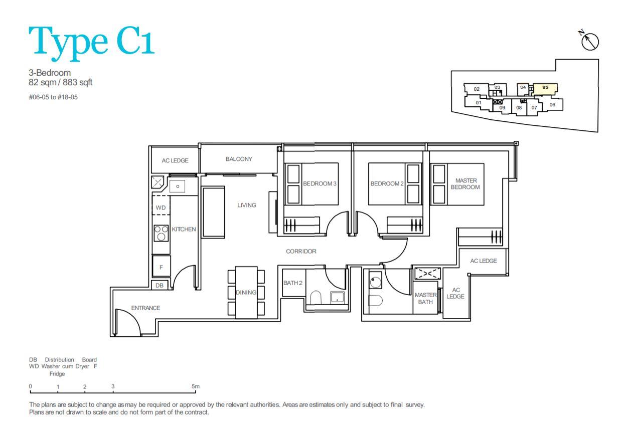 FloorPlan Type C1