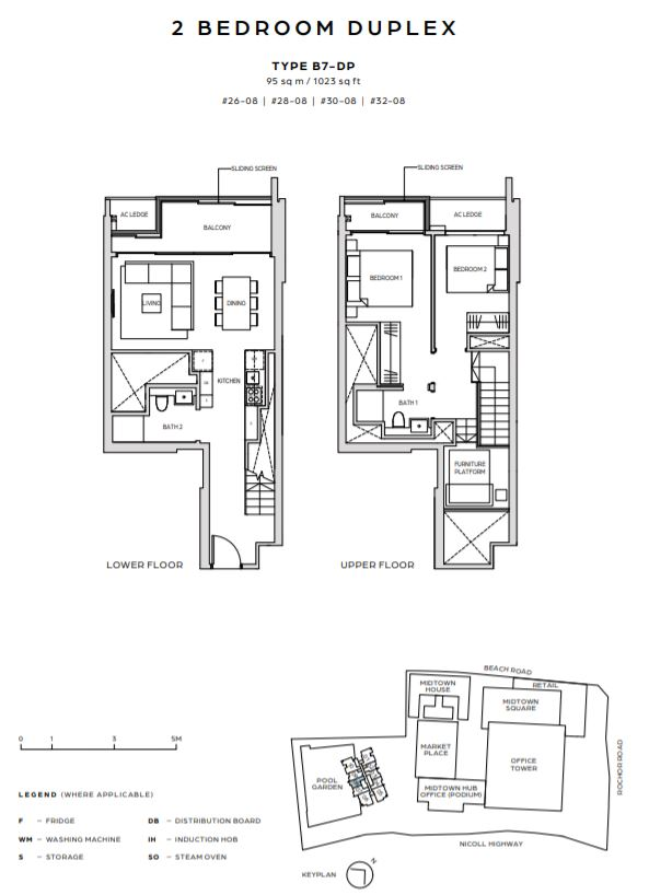 FloorPlan TypeB7 DP