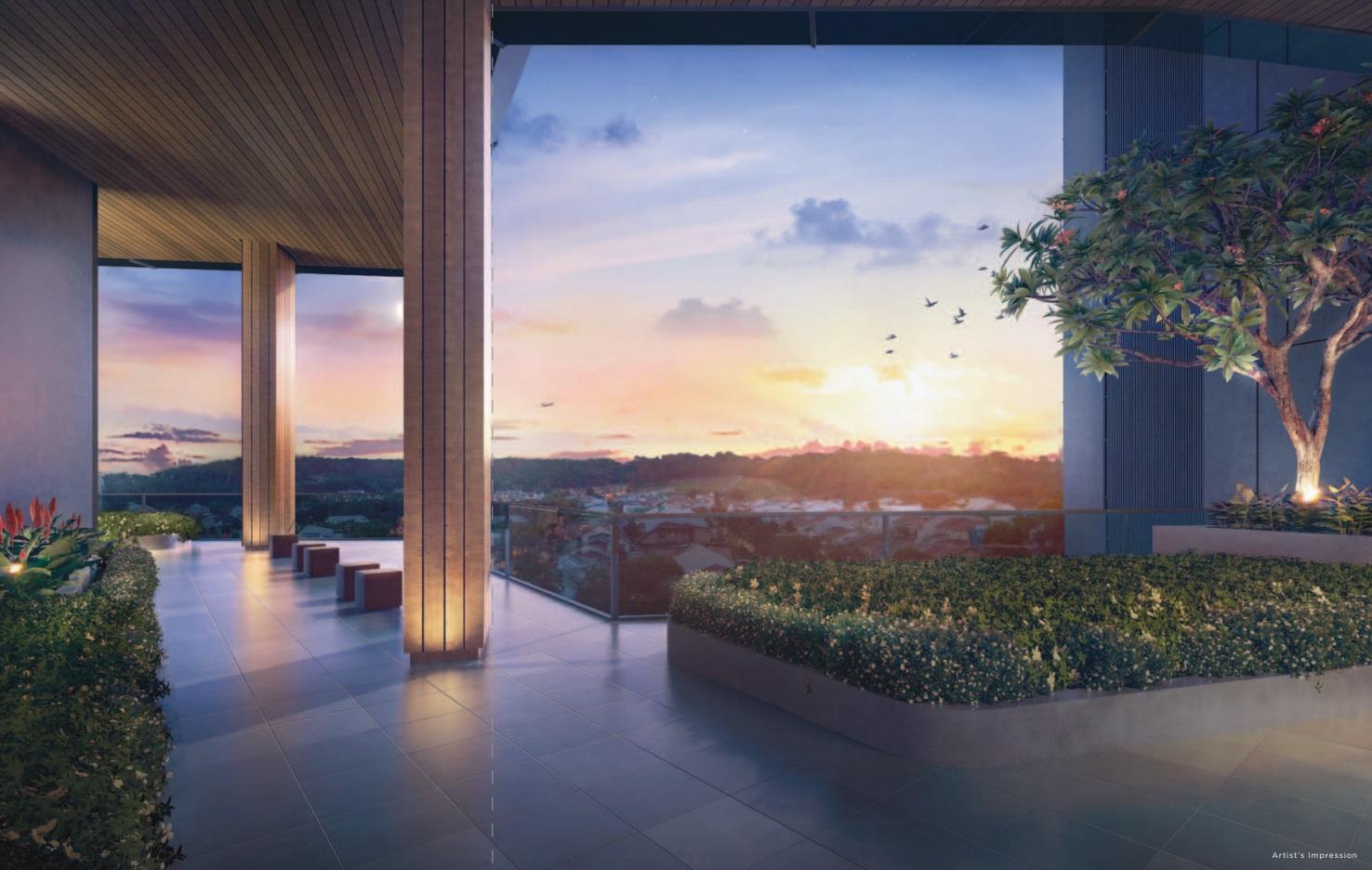 Mont Botanik Roof Deck