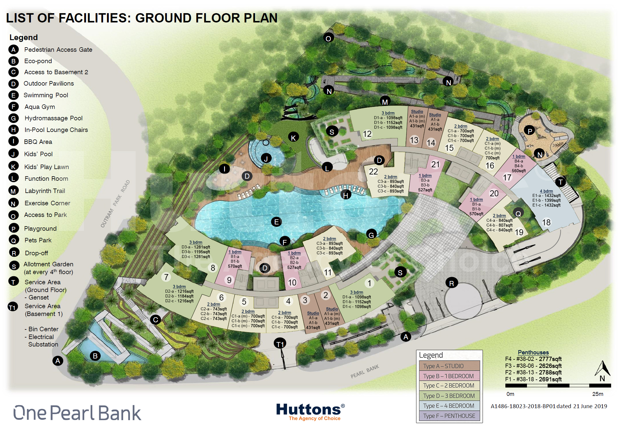 OPB Ground Flr Site Plan with Sizes (latest)