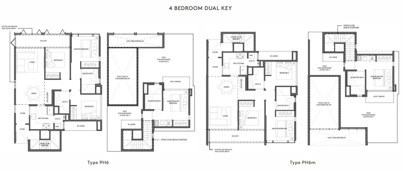 Floor Plan 4 Bedroom Dual Key
