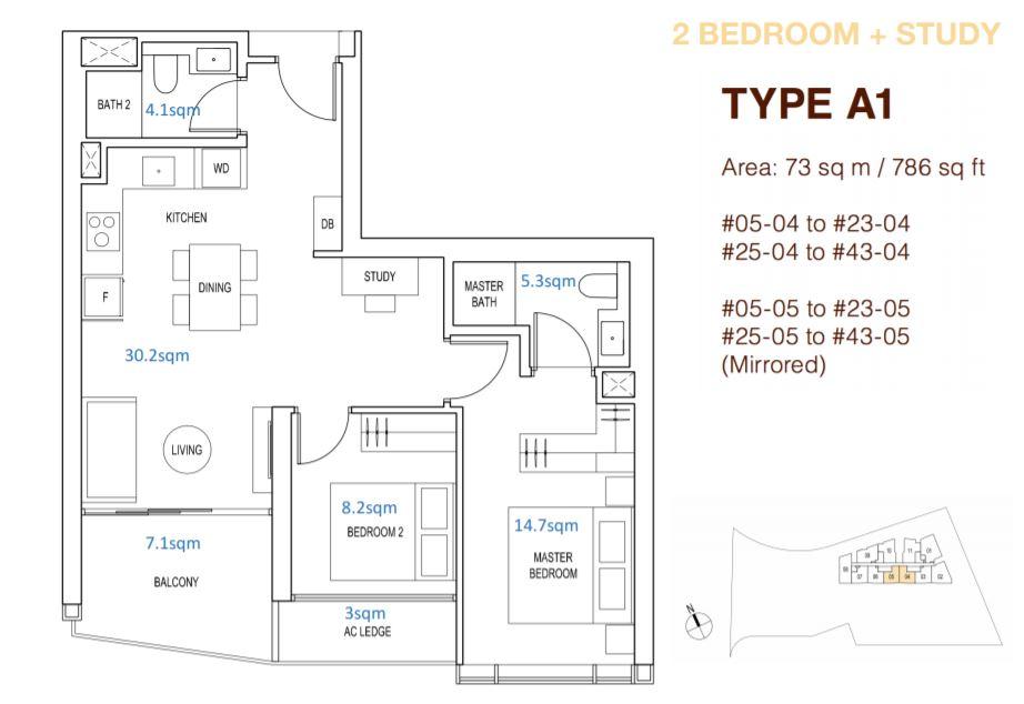 Floor Plan Type A1