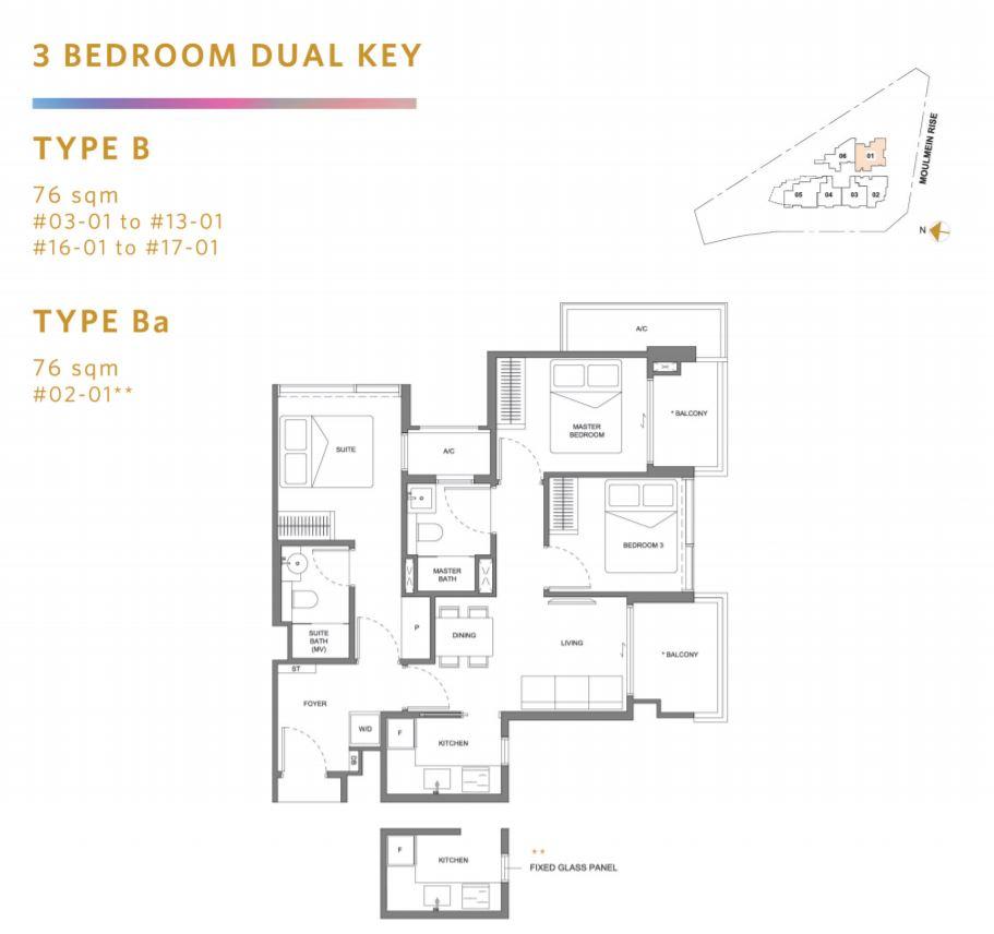 Floor Plan Type A3