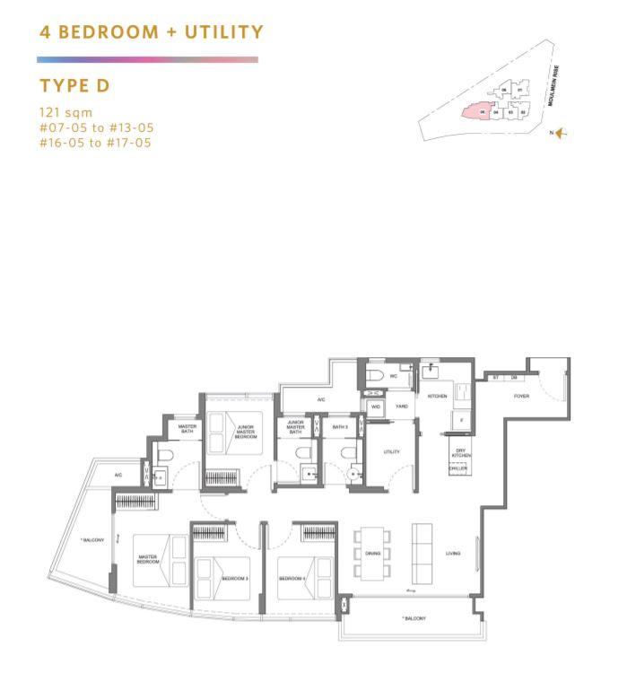 Floor Plan Type A4