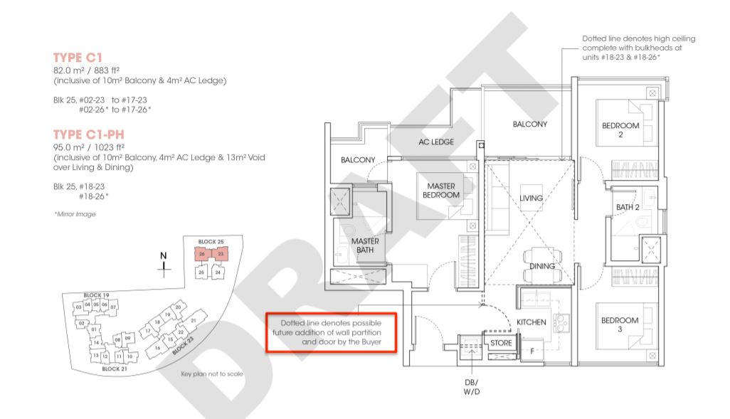 FloorPlan 3 Bedroom Flexi