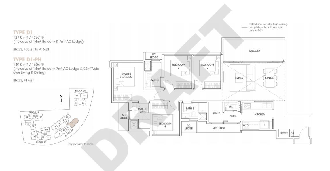FloorPlan 4 Bedroom