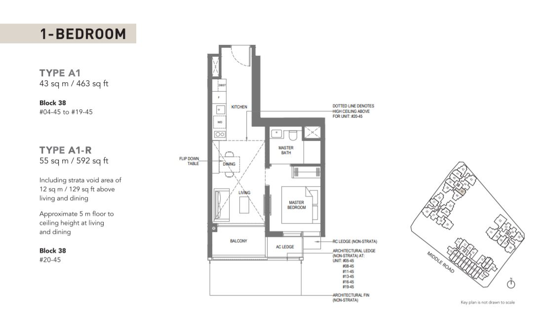 Floor Plan Type A1