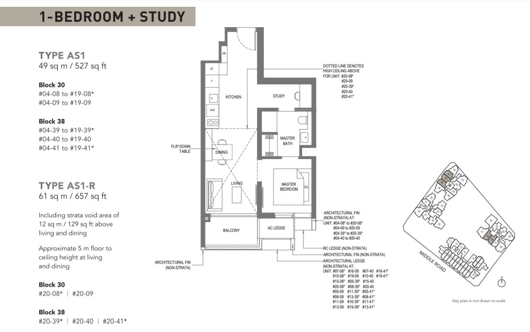 Floor Plan Type AS1