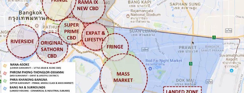 Bangkok Property Map 2