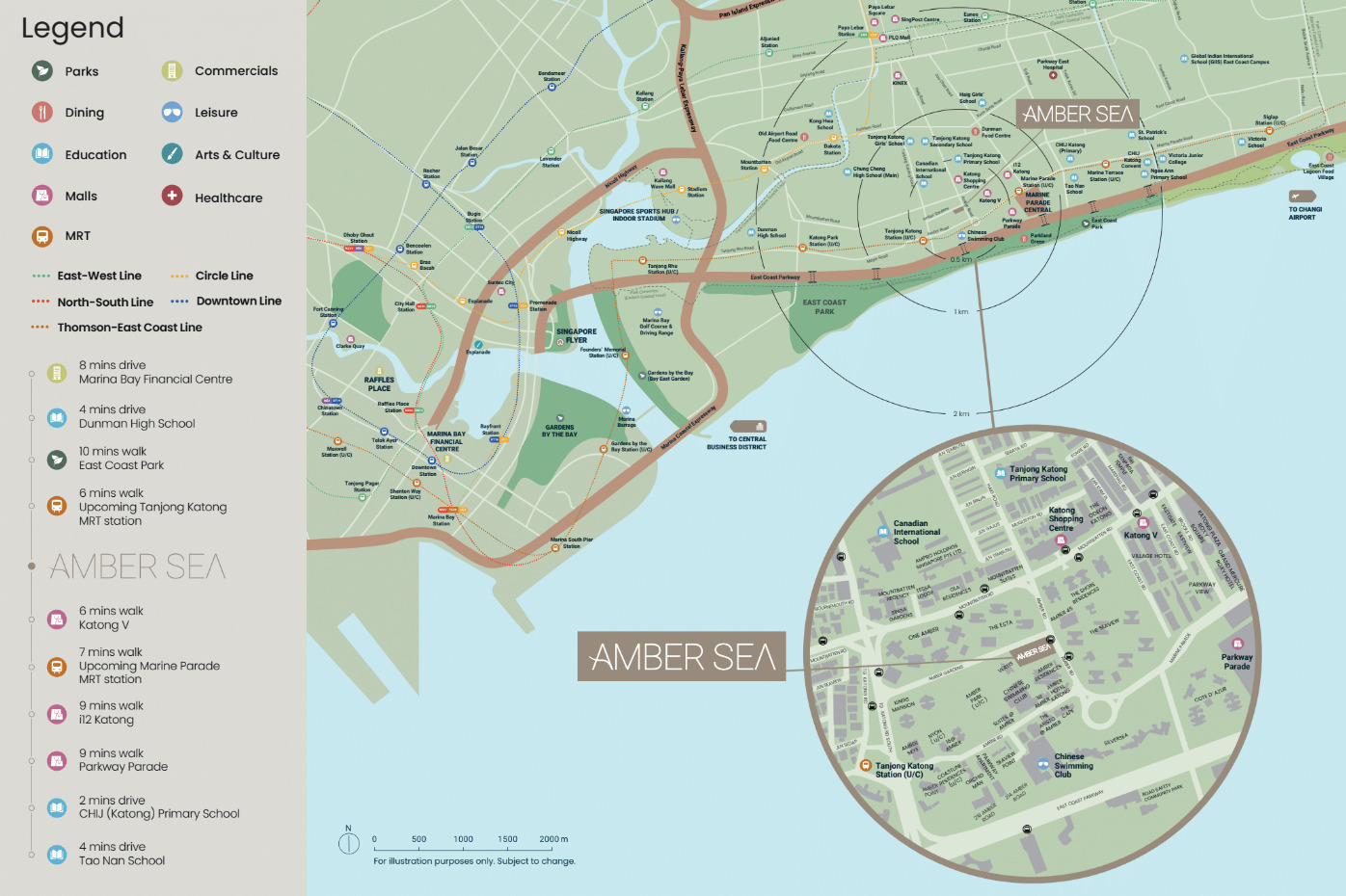 Amber Sea Location