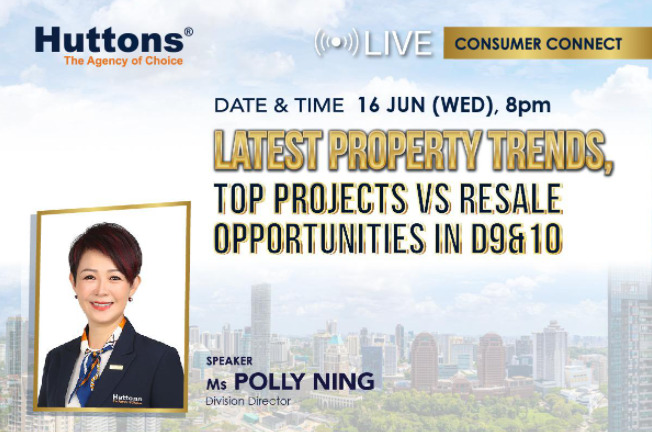 Huttons Consumer Connect Latest Property Trends